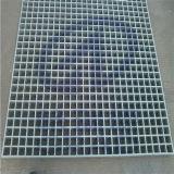 FRP moldeado de fibra de vidrio GRP rejilla de malla plana