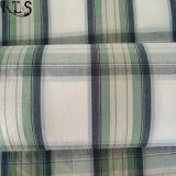 Le filé tissé de popeline de coton a teint le tissu pour des chemises de vêtements/robe Rls40-1po