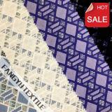 2016 Heet verkoop de Geometrische Breiende Stof van het Kant