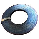 Tiras de acero Azul-Engrasadas del embalaje