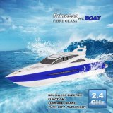 1341105-2.4G Brushless Electric Water Cooling Speedboat Fiber Glass RC Boat