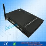 GSM PABX Ms108の電話システムPBXが付いている安定性の無線電信