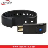 Androïde Ios van Bluetooth van het Horloge van de Sporten van de Fitness van de Manchet van de activiteit Slimme Armband