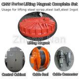 Form Body Lifting Magnet für 16 Ton Crane mit Control Panel für Loading Steel Scraps Cmw5-210L/1
