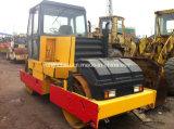 사용된 진동하는 쓰레기 압축 분쇄기 Dynapac Cc21 도로 롤러 12 톤 또는 두 배 드럼