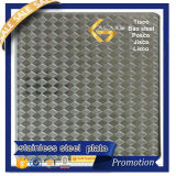 Placa Checkered profesional del acero inoxidable (304 316L 304L 316 321)