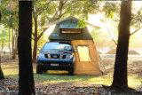 折る大きい屋根のテント、キャンバスの屋根の上のテント