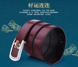 Cinghia di vita del cuoio genuino degli inarcamenti di cinghia di Pin degli accessori di modo