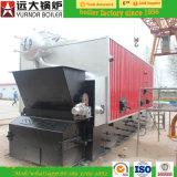 Steenkool/Hout/de Biomassa In brand gestoken Rooster van de Ketting van de Stoomketel Horizontale Automatische