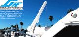 gru idraulica del fante di marina dell'yacht di telecomando di 1t 2t