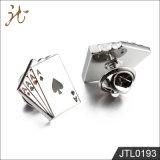 Botones del pun¢o del diseño del póker de la calidad de la manera Niza para la joyería