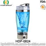 2016 neuf bouteilles électriques en plastique de dispositif trembleur, bouteille portative de dispositif trembleur de protéine de vortex (HDP-0824)