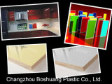 Thermoforming Glossy Acrylic/ABS Sheets con el PE Film para Kitchen Cabinate
