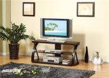 Basamento piegato di legno TV per mobilia domestica (DMBQ021)
