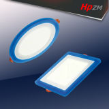 3+2W Round LED Panel Light