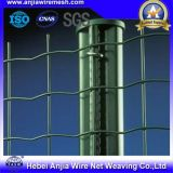 塗られる粉は構築のためのISO9001の溶接された金網の塀に反上る