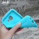 Caixa colorida do telefone de pilha da forma TPU de Shs