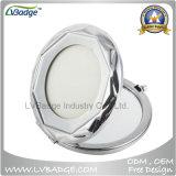 Зеркало металла заполированности пробела промотирования покрынное кромом портативное