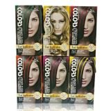 Tazol Cosmetic Highlights Couleur des cheveux (Orange) (60ml * 2 + 30ml + 60ml + 10ml)