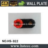 Panneau sonore de plaque de mur de tête rouge et noire de banane