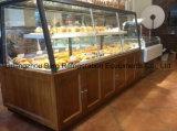 Showcase de madeira da padaria do gabinete de indicador do pão do produto novo para a loja da padaria