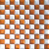 건축재료 (VMM3205)를 위한 비스듬한 다이아몬드 미러 유리제 모자이크