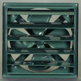 Ventilador de ventilação industrial do obturador