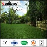 Sgs-Bescheinigungs-UV-Beständige künstliche Plastikgras-Matte für im Freiengarten