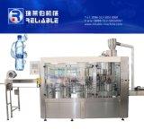 3 en 1 máquina de rellenar plástica automática del agua de botella