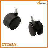 rodízio da roda da cabeça do parafuso de 40mm ou de 50mm sem freio