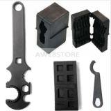 . 223/556 bloco do torno & chave superiores & mais baixos, jogo de ferramenta 4 do Armorer combinado