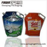 5L la impresión Cocnut/petróleo se levanta la bolsa con la maneta