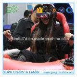 río de la realidad virtual 9d que transporta el simulador en balsa con los vidrios de Vr