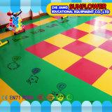 Пол детсада пола PVC настила спортивной площадки пожаробезопасный пластичный (XYH-13140-5)
