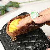 Мягкие перчатки ботинка щетки внимательности ботинка уборщика ботинок замши плюша шерстей