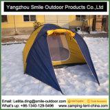 Barraca dobrável de acampamento à prova de fogo flexível do quadrado do mercado da fibra de vidro
