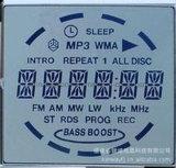 График LCD модуля индикации Cog 128X64 LCD