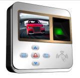 Sistema quente do controle de acesso da impressão digital RFID da polegada 800 da venda 2.4