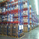 Cremalheira econômica padrão da pálete da prateleira do armazenamento do metal