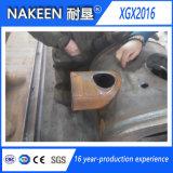 Cortadora del plasma del tubo de acero del CNC con el cartabón