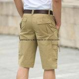 Os Mens ocasionais das calças do algodão da alta qualidade Short calças da praia