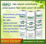 Membrana impermeable de la fibra del polietileno del alto polímero del precio al por mayor