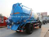 Передача 10 M3 Vacuum Truck Dongfeng Trucks Sewage Truck 4*2 Manual