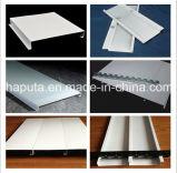 Azulejo de aluminio decorativo del techo de la prueba del humo para el material de construcción