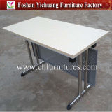 Foldable Melamine Conference 및 Sale (YC-T100-6)를 위한 Meeting Table Furniture