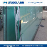 3-22mmの浴室のドアのオフィスのドアのための明確な平たい箱十分に和らげられた強くされたガラス