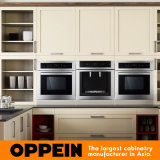 Armadietto grigiastro dell'Indonesia Modern Solid Wood Kitchen (OP15-S13)