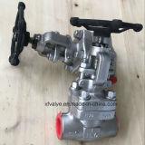 API602 a modifié le robinet d'arrêt sphérique de l'amorçage TNP de l'acier inoxydable F304L F316L