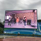 Camion visuel monté polychrome grande DEL de cadre d'écran d'Ourtdoor annonçant l'étalage