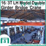 Емкость 5t надземного крана прогона Lh модельная двойная к 32t